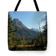 Mountain Opening Tote Bag