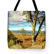 Mountain Overlook At High Point New Jersey Tote Bag