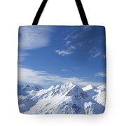 Mountain Panorama Lech Near St Saint Anton Am Arlberg Austria Tote Bag