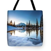 Mountain Peace  Tote Bag