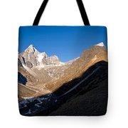 Mountain Peak, Kumuche Himal Tote Bag