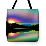 Mountain Reflections 2 Tote Bag