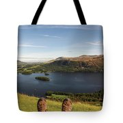 Mountain Relaxation Tote Bag