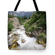 Mountain River Tote Bag by Margaret Pitcher