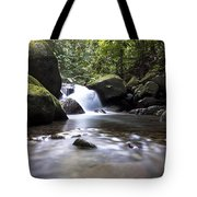 Mountain River Stream Tote Bag