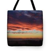 Mountain Road Sunrise 1 Tote Bag