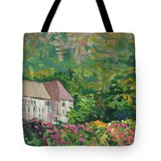 Mountain Scenery In Dale, Sandnes Tote Bag