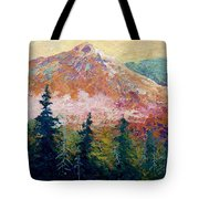 Mountain Sentinel Tote Bag