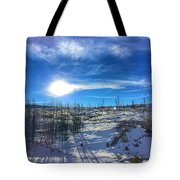 Mountain Shadows Tote Bag