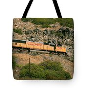 Mountain Side Tote Bag