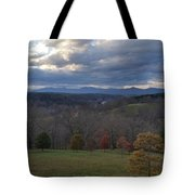 Mountain Skyline Tote Bag