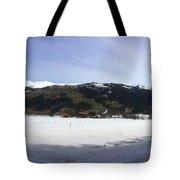 Mountain Snow World Long Tote Bag