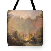 Mountain Spirits Tote Bag