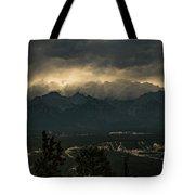 Mountain Storm Tote Bag