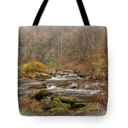 Mountain Stream With Vignette #2 Tote Bag