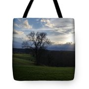 Mountain Sun Tote Bag