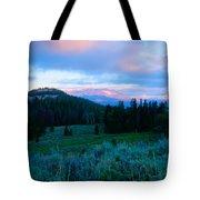 Mountain Sunrise Tote Bag