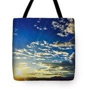 Mountain Sunset 3 Tote Bag