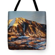 Mountain Sunsets Tote Bag