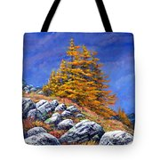 Mountain Tamaracks Tote Bag