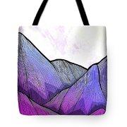 Mountain Texture Tote Bag