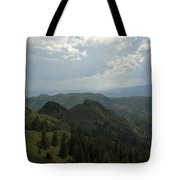 Mountain Top 5 Tote Bag