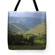 Mountain Top 6 Tote Bag