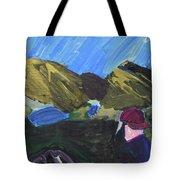 Mountain Top Tote Bag
