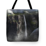 Mountain Top Tote Bag