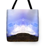 Mountain Tops In Sicily Tote Bag