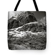 Mountain Track Tote Bag