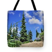 Mountain Trail - Olympic National Park Tote Bag