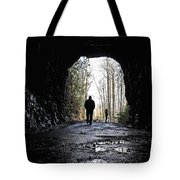 Mountain Tunnel Tote Bag
