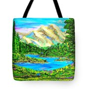 Mountain Valley Tote Bag