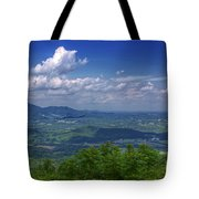Mountain Veiw Tote Bag