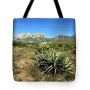 Mountain View Las Cruces Tote Bag