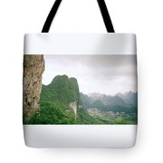 China Mountain View Tote Bag