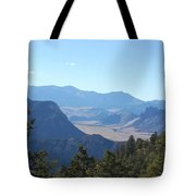 Mountain View On The Chief Joseph Highway Tote Bag