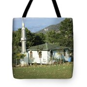 Mountain Village Mosque Tote Bag