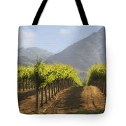 Mountain Vineyard Tote Bag