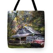 Mountain Vintage Tote Bag