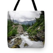Mountain Vista Tote Bag by Margaret Pitcher