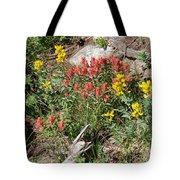 Mountain Wild Flowers Tote Bag