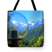 Mountain World 5 Tote Bag