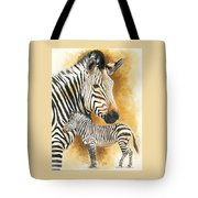 Mountain Zebra Tote Bag