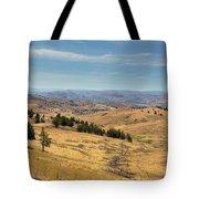 Mountainous Terrain In Central Oregon Tote Bag