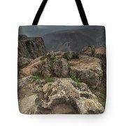 Mountainous Terrain Of Israel Tote Bag