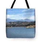 Mountainous View Tote Bag