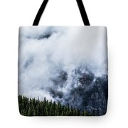 Mountains Tote Bag by Adnan Bhatti