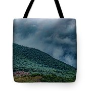 Mountains And Clouds 1350t Tote Bag